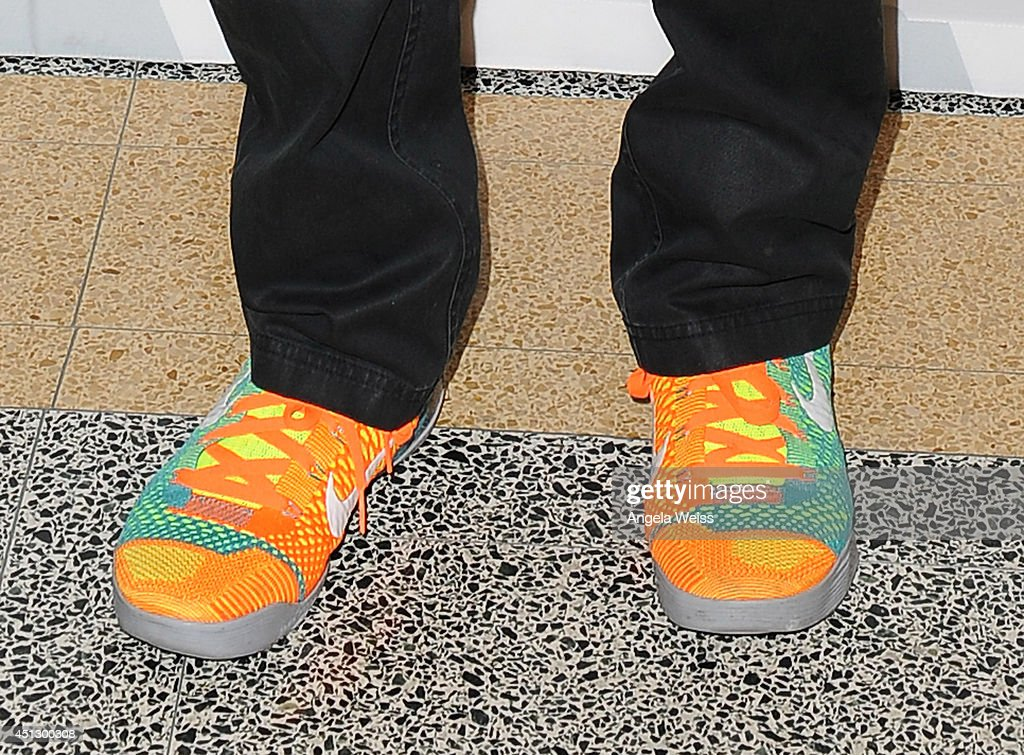 Director Spike Lee (shoe detail) attends the Academy of Motion Picture Arts And Sciences' Screens '25th Hour' & 'WAKE UP! David C. Lee Photographs of the Films of Spike Lee' at Linwood Dunn Theater at the Pickford Center for Motion Study on June 26, 2014 in Hollywood, California.