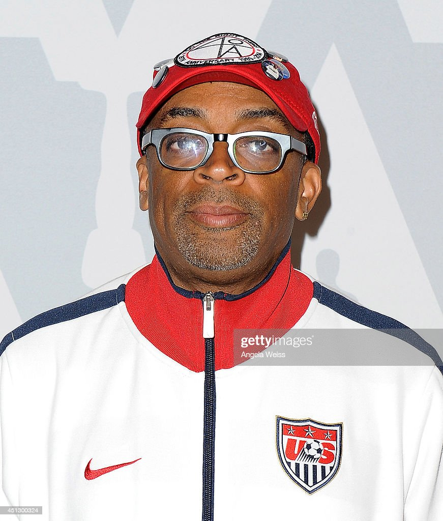 Director <a gi-track='captionPersonalityLinkClicked' href=/galleries/search?phrase=Spike+Lee&family=editorial&specificpeople=156419 ng-click='$event.stopPropagation()'>Spike Lee</a> attends the Academy of Motion Picture Arts And Sciences' Screens '25th Hour' & 'WAKE UP! David C. Lee Photographs of the Films of <a gi-track='captionPersonalityLinkClicked' href=/galleries/search?phrase=Spike+Lee&family=editorial&specificpeople=156419 ng-click='$event.stopPropagation()'>Spike Lee</a>' at Linwood Dunn Theater at the Pickford Center for Motion Study on June 26, 2014 in Hollywood, California.