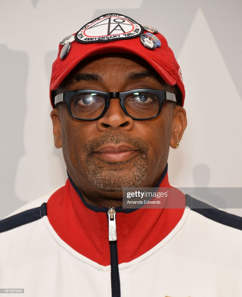 Director <a gi-track='captionPersonalityLinkClicked' href=/galleries/search?phrase=Spike+Lee&family=editorial&specificpeople=156419 ng-click='$event.stopPropagation()'>Spike Lee</a> attends the AMPAS screening of '25th Hour' in conjunction with the 'WAKE UP! David C. Lee Photographs of the films of <a gi-track='captionPersonalityLinkClicked' href=/galleries/search?phrase=Spike+Lee&family=editorial&specificpeople=156419 ng-click='$event.stopPropagation()'>Spike Lee</a>' exhibition at the Linwood Dunn Theater at the Pickford Center for Motion Study on June 26, 2014 in Hollywood, California.