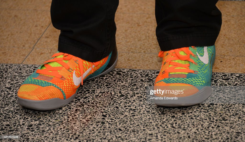 Director Spike Lee (shoe detail) attends the AMPAS screening of '25th Hour' in conjunction with the 'WAKE UP! David C. Lee Photographs of the films of Spike Lee' exhibition at the Linwood Dunn Theater at the Pickford Center for Motion Study on June 26, 2014 in Hollywood, California.