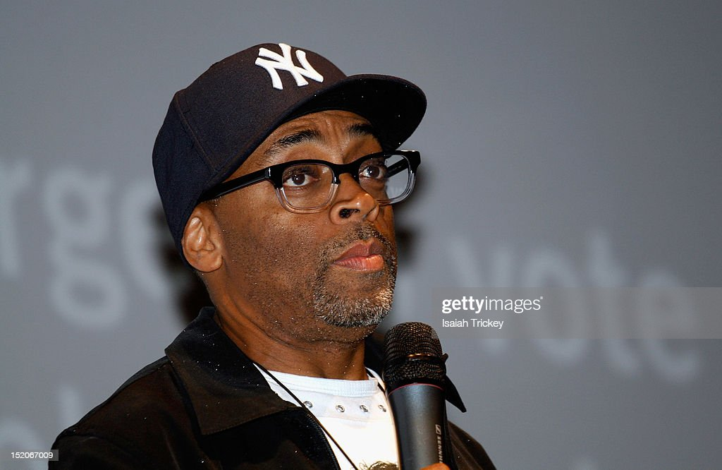 Director <a gi-track='captionPersonalityLinkClicked' href=/galleries/search?phrase=Spike+Lee&family=editorial&specificpeople=156419 ng-click='$event.stopPropagation()'>Spike Lee</a> attends the 'Bad 25' Premiere at the 2012 Toronto International Film Festival at Ryerson Theatre on September 15, 2012 in Toronto, Canada.