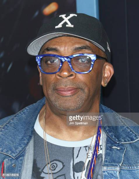 Director Spike Lee attends the 'DUNKIRK' New York premiere at AMC Lincoln Square IMAX on July 18 2017 in New York City