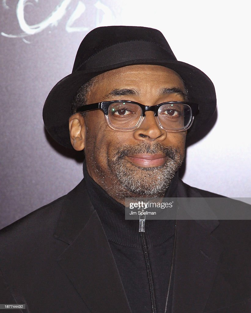 Director <a gi-track='captionPersonalityLinkClicked' href=/galleries/search?phrase=Spike+Lee&family=editorial&specificpeople=156419 ng-click='$event.stopPropagation()'>Spike Lee</a> attends the FilmDistrict & Complex Media with The Cinema Society & Grey Goose screening of 'Oldboy' at AMC Lincoln Square Theater on November 11, 2013 in New York City.