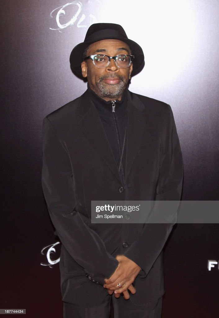 Director Spike Lee attends the FilmDistrict & Complex Media with The Cinema Society & Grey Goose screening of 'Oldboy' at AMC Lincoln Square Theater on November 11, 2013 in New York City.