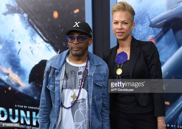 Director Spike Lee attends the Warner Bros Pictures 'DUNKIRK' US premiere at AMC Loews Lincoln Square on July 18 2017 in New York City / AFP PHOTO /...