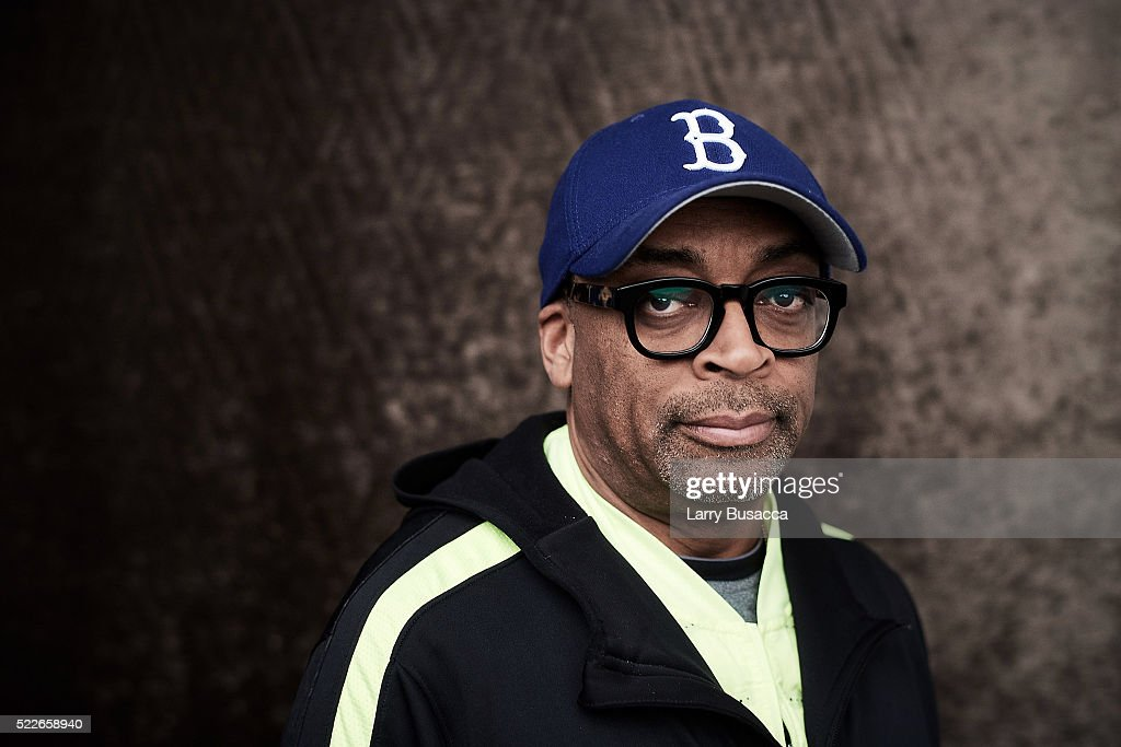 Director Spike Lee from '2 Fists Up' poses at the Tribeca Film Festival Getty Images Studio on April 19, 2016 in New York City.