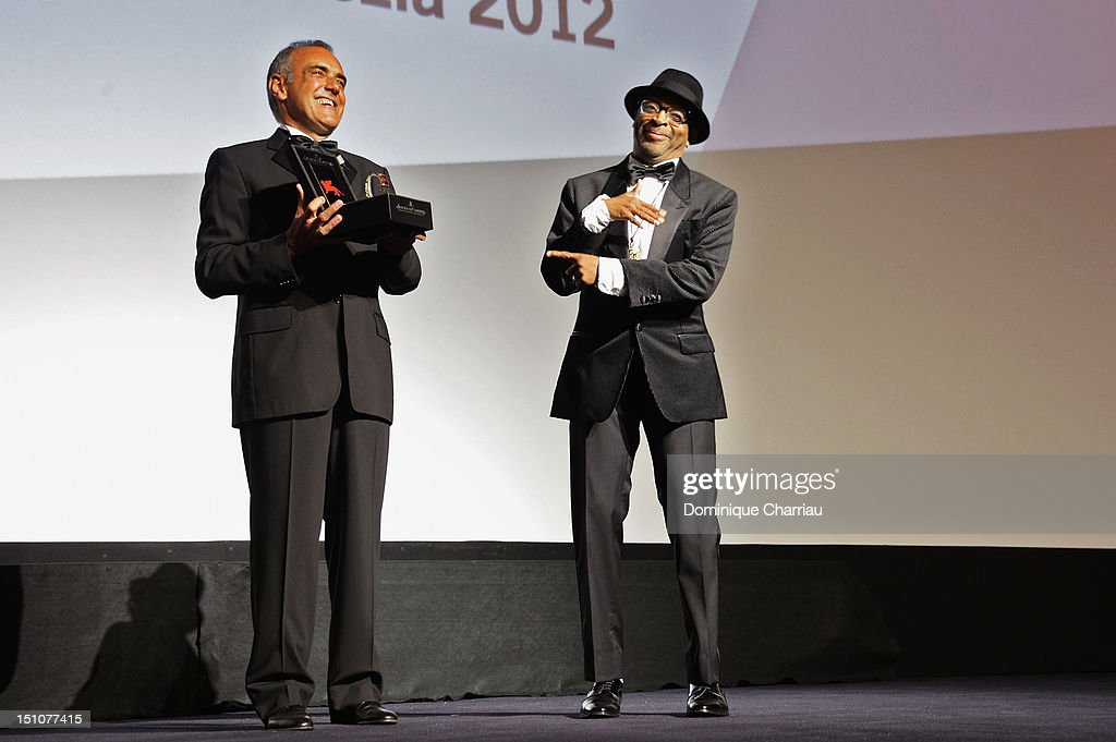 """Jaeger-LeCoultre Glory To The Filmmaker 2012 Award"" Honors Spike Lee Award Ceremony - The 69th Venice Film Festival"