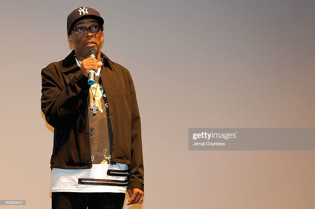 Director Spike Lee speaks at the 'Bad 25' Premiere during the 2012 Toronto International Film Festival held at the Ryerson Theatre on September 15, 2012 in Toronto, Canada.