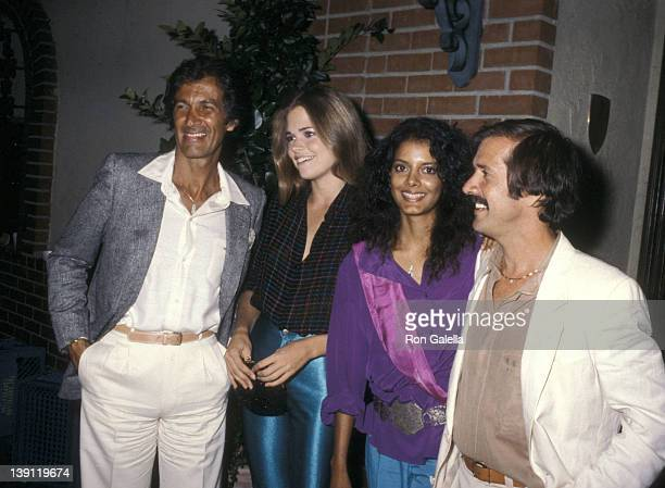 Director Stan Dragoti Jamie Lee Johnson Singer Sonny Bono and girlfriend Susie Coelho on October 3 1979 dine at La Scala Restaurant in Beverly Hills...