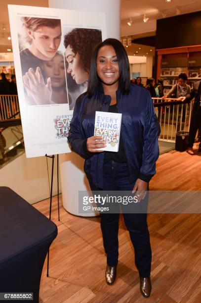 Director Stella Meghie attends the 'Everything Everything' book signing at Indigo Eaton Centre on May 4 2017 in Toronto Canada