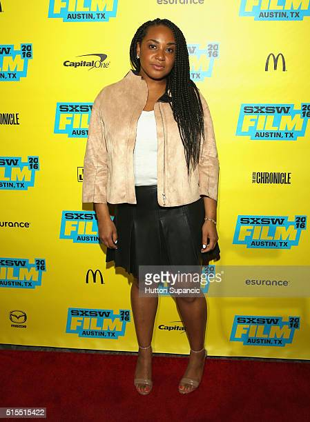 Director Stella Meghie attends the premiere of 'Jean of the Joneses' during the 2016 SXSW Music Film Interactive Festival at Stateside Theater on...