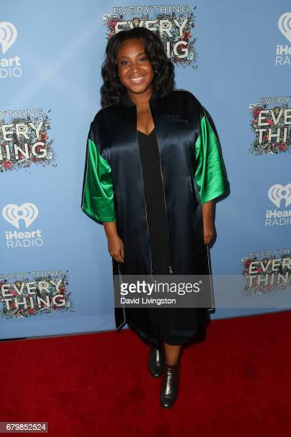 Director Stella Meghie attends the screening of Warner Bros Pictures' 'Everything Everything' at the TCL Chinese Theatre on May 6 2017 in Hollywood...