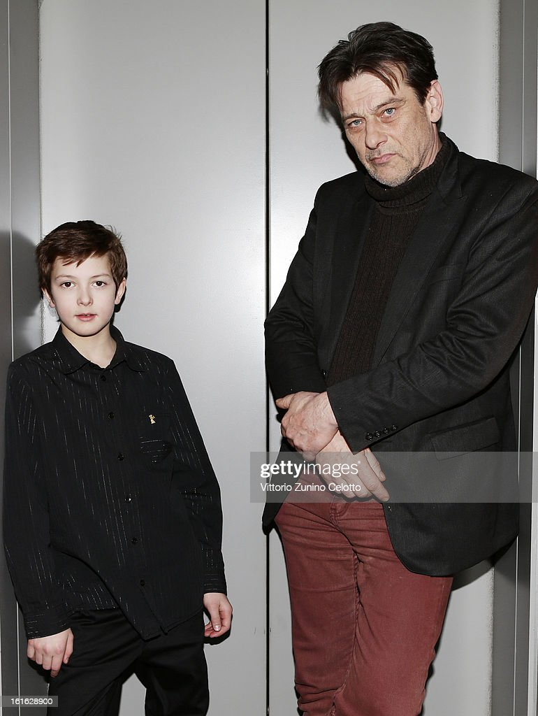 Director Stephan Apelgren and Actor Linus Oscarsson attend the 'Eskil & Trinidad' Portrait Session during the 63rd Berlinale International Film Festival at the Berlinale Palast on February 13, 2013 in Berlin, Germany.