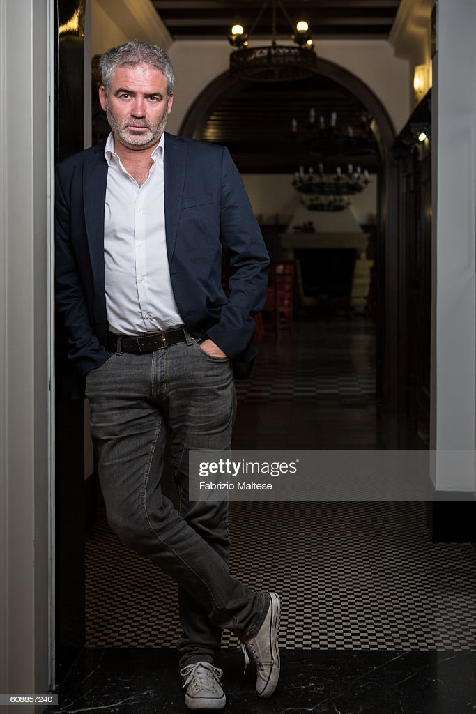 Director Stephane Brize is photographed for Self Assignment on September 7 2016 in Venice, Italy.