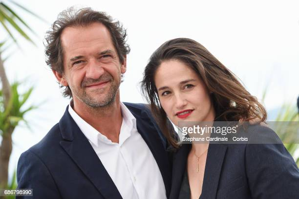 Director Stephane De Groodt and actress and director Marie Gillain attend Adami Jeunes Talents photocall during the 70th annual Cannes Film Festival...