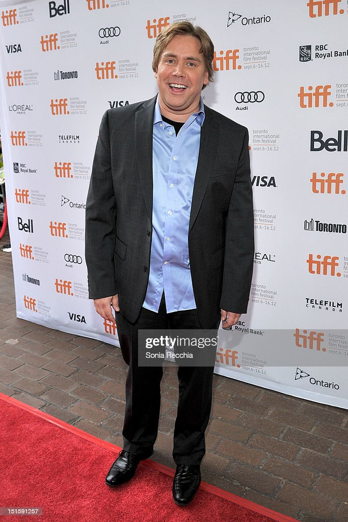 Director Stephen Chbosky attends 'The Perks Of Being A Wallflower' premiere during the 2012 Toronto International Film Festival at Ryerson Theatre on September 8, 2012 in Toronto, Canada.