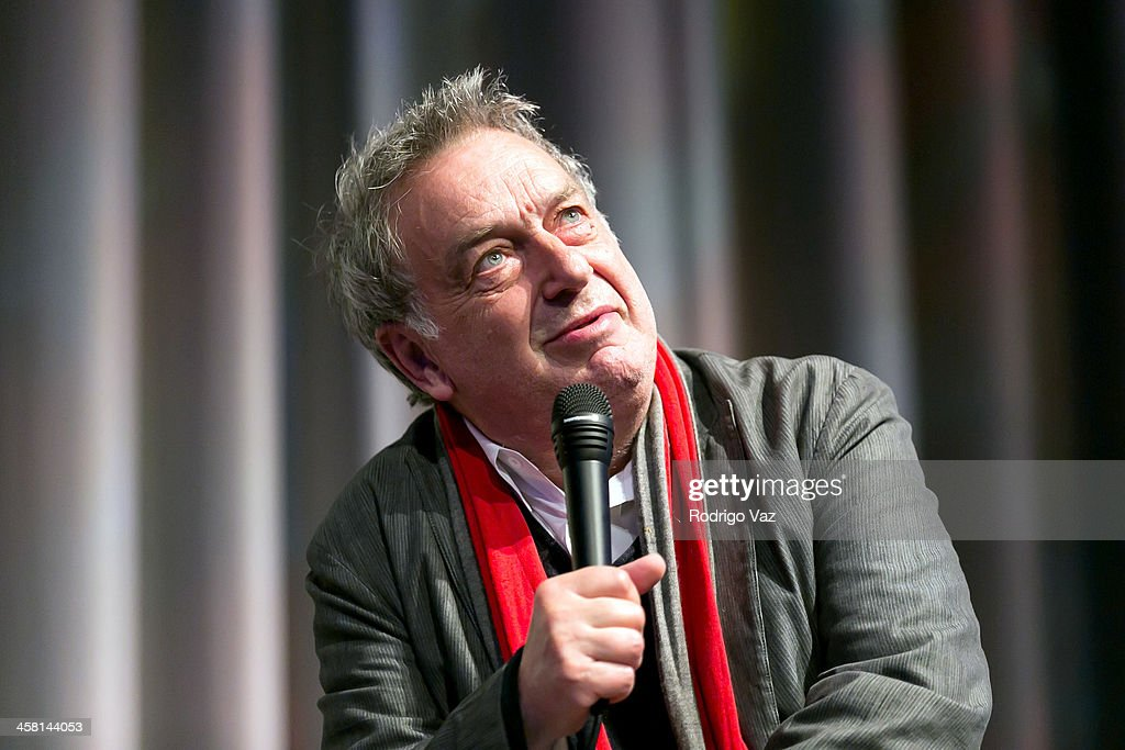 Director <a gi-track='captionPersonalityLinkClicked' href=/galleries/search?phrase=Stephen+Frears&family=editorial&specificpeople=238980 ng-click='$event.stopPropagation()'>Stephen Frears</a> attends the 'Philomena' Town Hall event and screening at Museum of Tolerance on December 19, 2013 in Los Angeles, California.