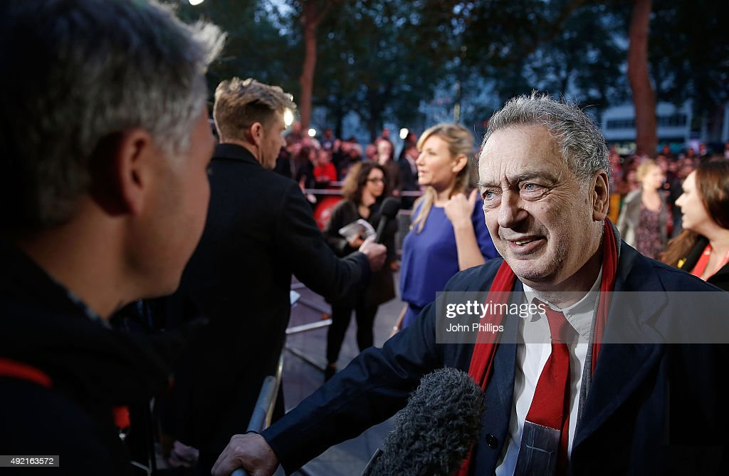 Director Stephen Frears attends the 'The Program' screening during the BFI London Film Festival at Vue Leicester Square on October 10 2015 in London...