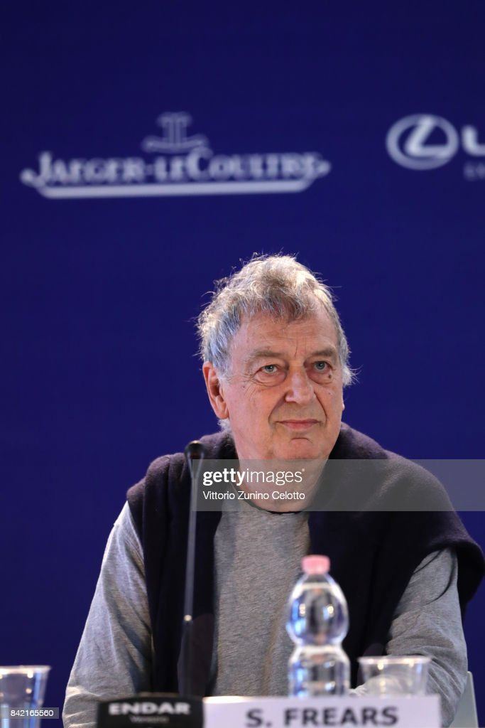 Director Stephen Frears attends the Victoria & Abdul and Jaeger-LeCoultre Glory to the Filmmake Award Press Conference during the 74th Venice International Film Festival at Hotel Excelsior on September 3, 2017 in Venice, Italy.
