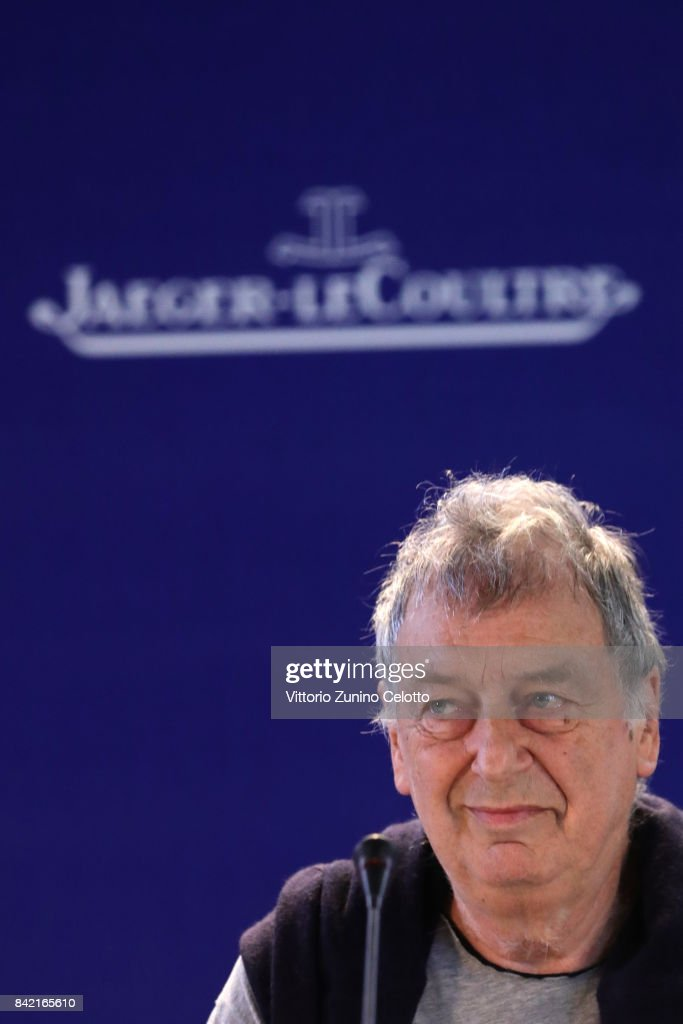 Director Stephen Frears attends the Victoria & Abdul and Jaeger-LeCoultre Glory to the Filmmake Award Press Conference during the 74th Venice International Film Festival at Palazzo del Casino on September 3, 2017 in Venice, Italy.