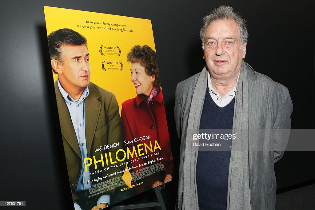 Director Stephen Frears attends TheWrap's Awards Foreign Screening Series 'Philomena' at the Landmark Theater on December 18 2013 in Los Angeles...