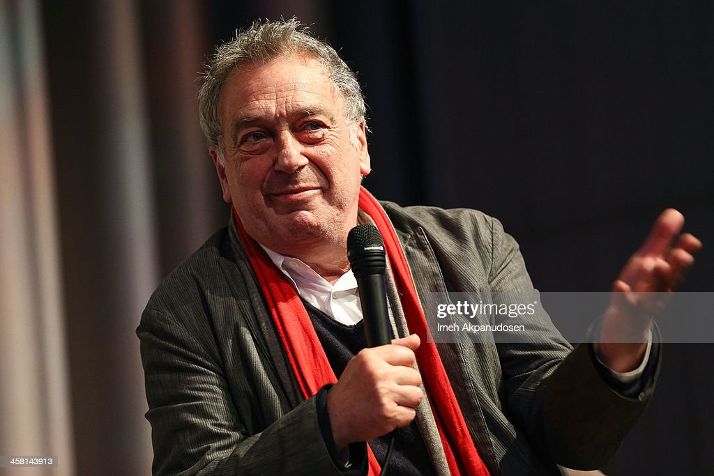 Director <a gi-track='captionPersonalityLinkClicked' href=/galleries/search?phrase=Stephen+Frears&family=editorial&specificpeople=238980 ng-click='$event.stopPropagation()'>Stephen Frears</a> speaks onstage during a Q&A at the 'Philomena' Town Hall Event and Screening at Museum Of Tolerance on December 19, 2013 in Los Angeles, California.