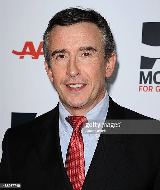 Director Steve Coogan attends the 13th annual AARP's Movies For Grownups Awards gala at Regent Beverly Wilshire Hotel on February 10 2014 in Beverly...