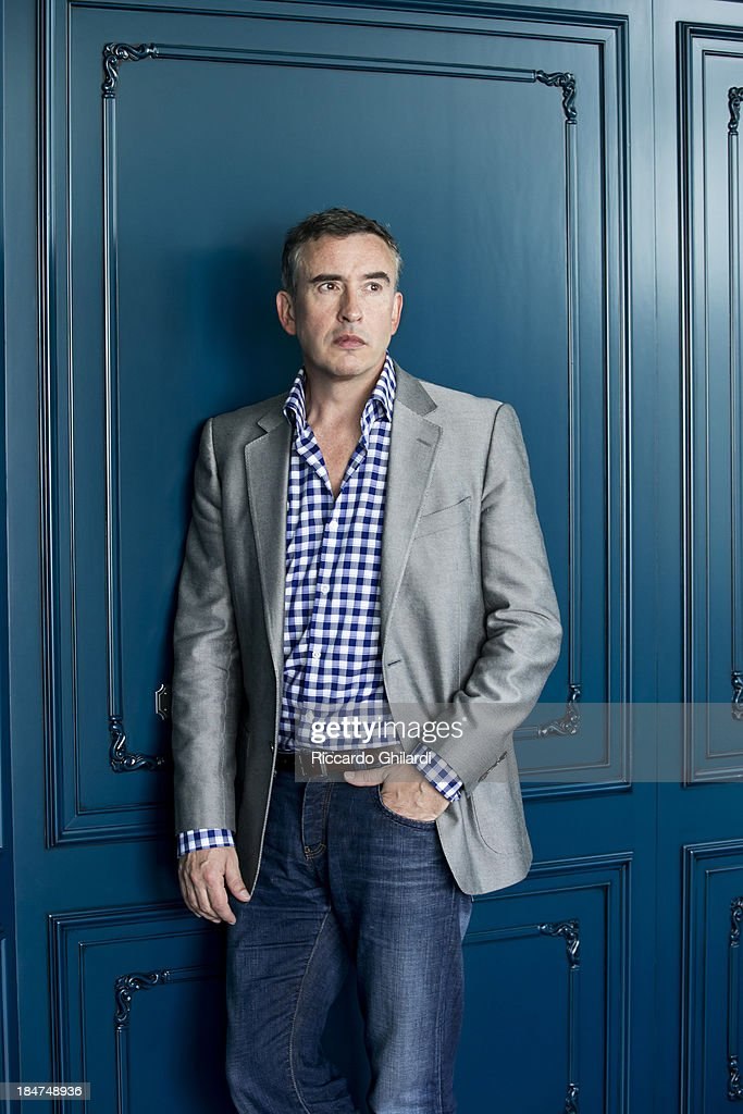 Director Steve Coogan is photographed for Self Assignment on September 30, 2013 in Venice, Italy.