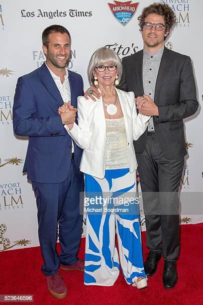 Director Steve Goldbloom Actress Rita Moreno and Actor Joel Kelley Dauten attends the 17th Annual Newport Beach Film Festival Honors Reception 2016...