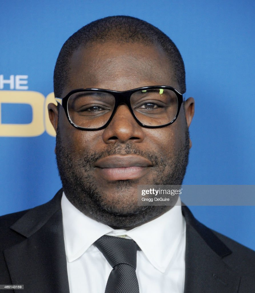 Director Steve McQueen arrives at the 66th Annual Directors Guild Of America Awards at the Hyatt Regency Century Plaza on January 25, 2014 in Century City, California.