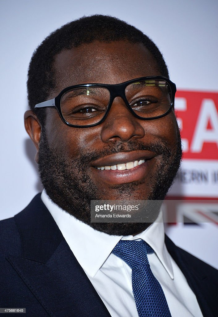Director Steve McQueen arrives at the GREAT British Film Reception honoring the British Nominees of The 86th Annual Academy Awards at British Consul General's Residence on February 28, 2014 in Los Angeles, California.
