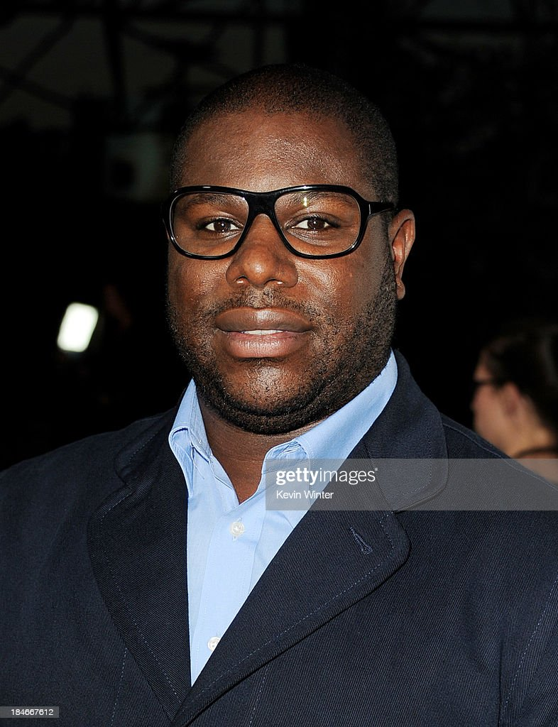 Director <a gi-track='captionPersonalityLinkClicked' href=/galleries/search?phrase=Steve+McQueen+-+Film+Director&family=editorial&specificpeople=7080077 ng-click='$event.stopPropagation()'>Steve McQueen</a> arrives at the premiere of Fox Searchlights' '12 Years A Slave' at the Directors Guild on October 14, 2013 in Los Angeles, California.