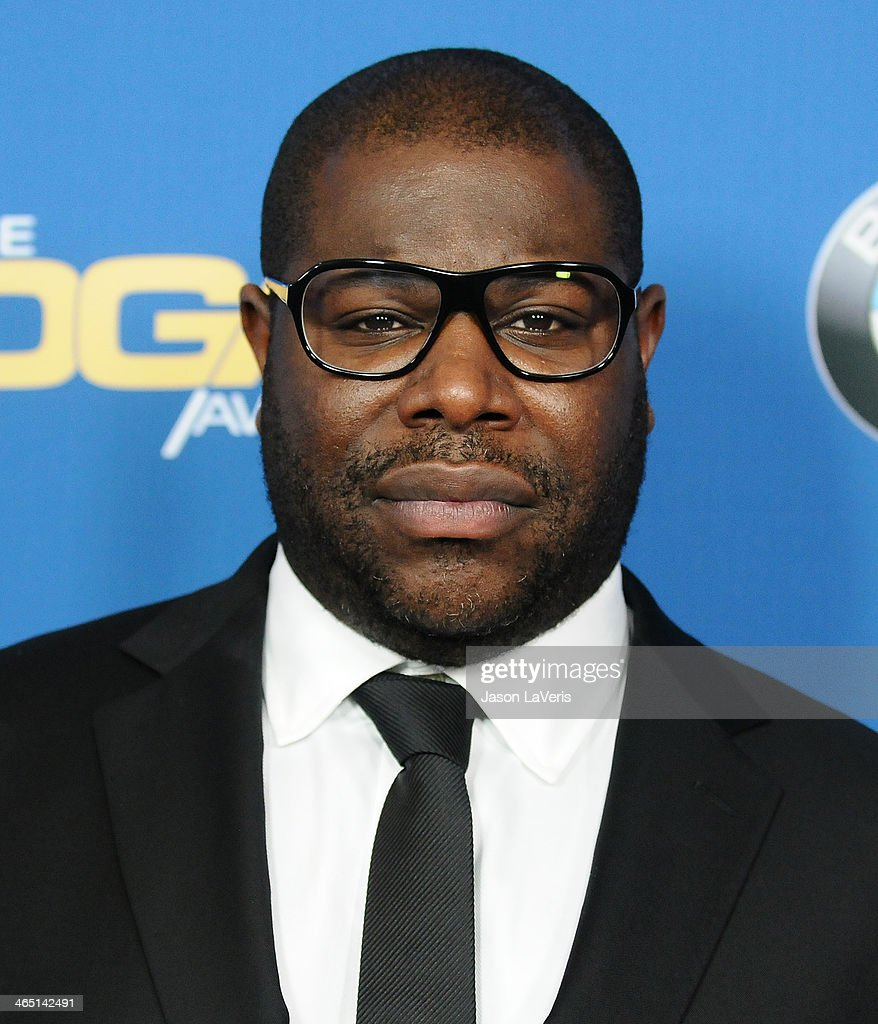 Director Steve McQueen attends the 66th annual Directors Guild of America Awards at the Hyatt Regency Century Plaza on January 25, 2014 in Century City, California.
