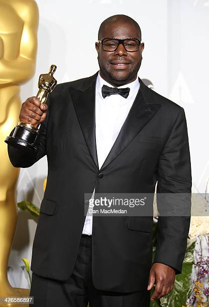 Director Steve McQueen winner of Best Picture for '12 Years a Slave' poses in the press room at the 86th Annual Academy Awards at Hollywood Highland...