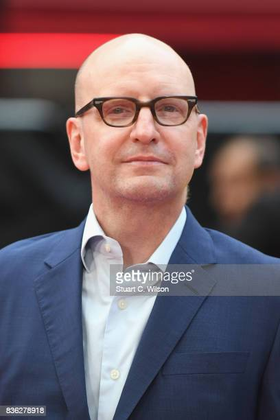 Director Steven Soderbergh arriving at the 'Logan Lucky' UK premiere held at Vue West End on August 21 2017 in London England