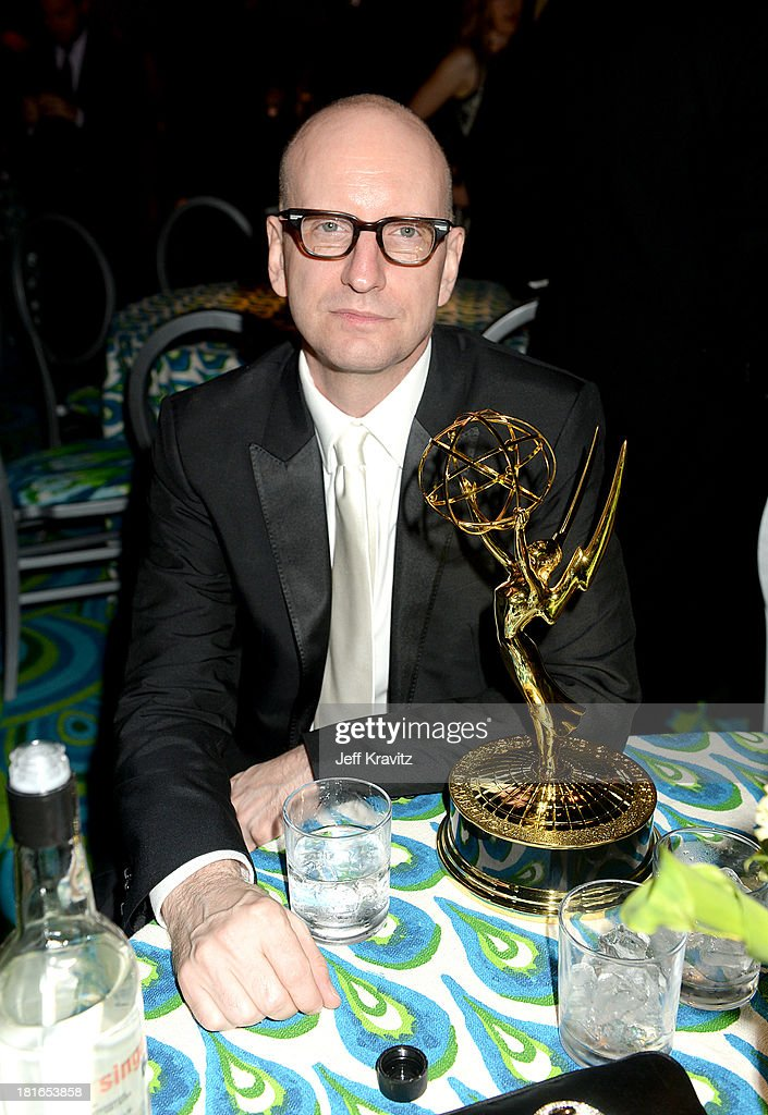 Director <a gi-track='captionPersonalityLinkClicked' href=/galleries/search?phrase=Steven+Soderbergh&family=editorial&specificpeople=215049 ng-click='$event.stopPropagation()'>Steven Soderbergh</a> attends HBO's official Emmy after party at The Plaza at the Pacific Design Center on September 22, 2013 in Los Angeles, California.