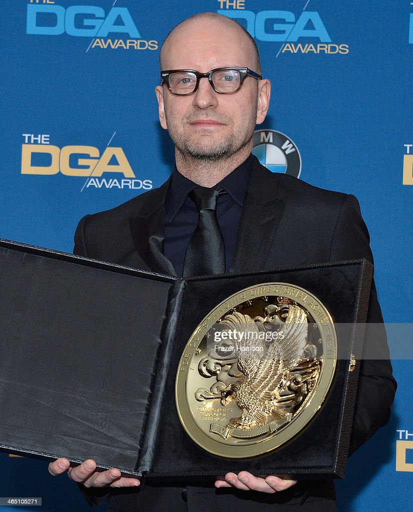 Director Steven Soderbergh winner of the Outstanding Directorial Achievement in Movies for Television and MiniSeries for 'Behind the Candelabra'...