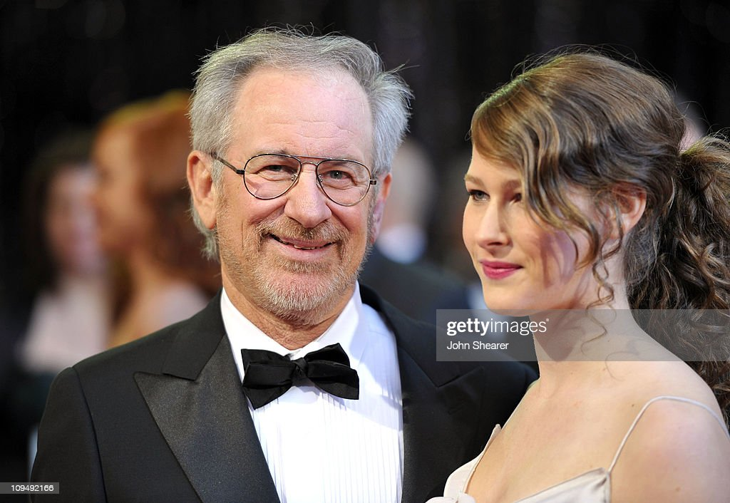 Director <a gi-track='captionPersonalityLinkClicked' href=/galleries/search?phrase=Steven+Spielberg&family=editorial&specificpeople=202022 ng-click='$event.stopPropagation()'>Steven Spielberg</a> and daughter Sasha Spielberg arrive at the 83rd Annual Academy Awards held at the Kodak Theatre on February 27, 2011 in Hollywood, California.