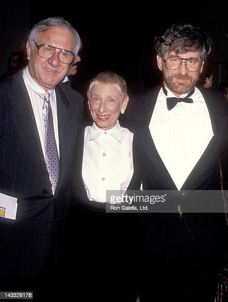 Director Steven Spielberg and parents Arnold Spielberg and Leah Adler attend the American Jewish Committee's 83rd Annual Executive Council...