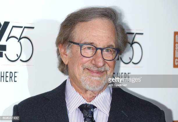 Director Steven Spielberg attends the 55th New York Film Festival 'Spielberg' premiere at Alice Tully Hall on October 5 2017 in New York City