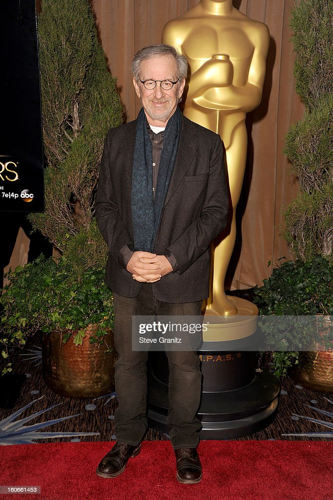 Director Steven Spielberg attends the 85th Academy Awards Nominees Luncheon at The Beverly Hilton Hotel on February 4, 2013 in Beverly Hills, California.