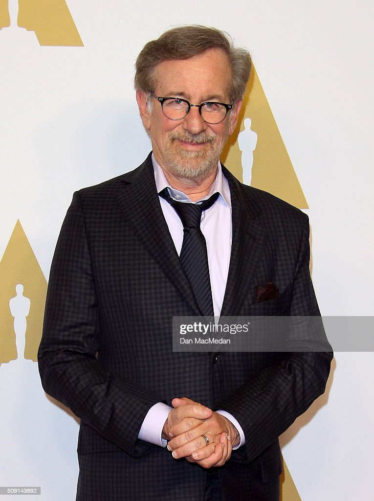 Director <a gi-track='captionPersonalityLinkClicked' href=/galleries/search?phrase=Steven+Spielberg&family=editorial&specificpeople=202022 ng-click='$event.stopPropagation()'>Steven Spielberg</a> attends the 88th Annual Academy Awards Nominee Luncheon in Beverly Hills, California.