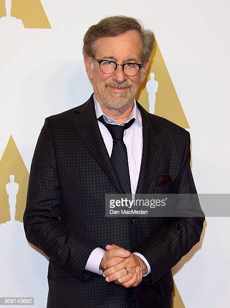 Director Steven Spielberg attends the 88th Annual Academy Awards Nominee Luncheon in Beverly Hills California