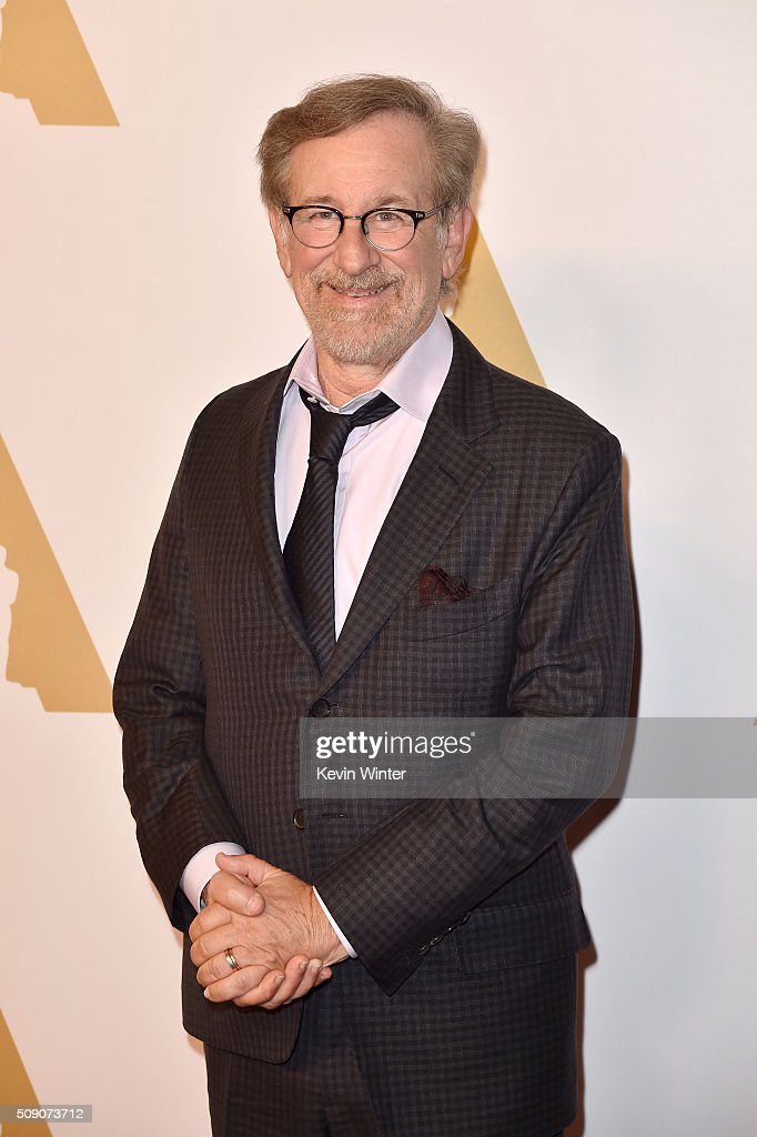 Director <a gi-track='captionPersonalityLinkClicked' href=/galleries/search?phrase=Steven+Spielberg&family=editorial&specificpeople=202022 ng-click='$event.stopPropagation()'>Steven Spielberg</a> attends the 88th Annual Academy Awards nominee luncheon on February 8, 2016 in Beverly Hills, California.