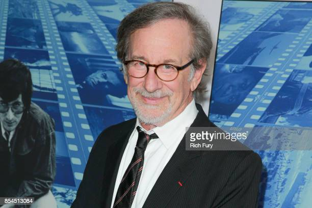 Director Steven Spielberg attends the premiere of HBO's 'Spielberg' at Paramount Studios on September 26 2017 in Hollywood California