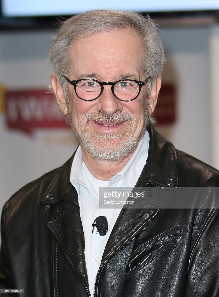 Director Steven Spielberg attends the 'Schindler's List' 20th Anniversary Limited Edition DVD/Blu-ray & USC Shoah Foundation's IWitness Video Challenge launch event at The Chandler School on February 27, 2013 in Pasadena, California.