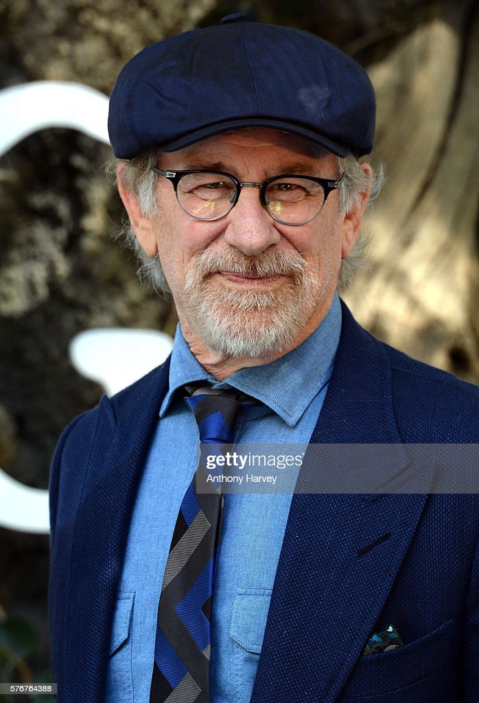 Director Steven Spielberg attends the UK film premiere of the BFG on July 17, 2016 in London, England.