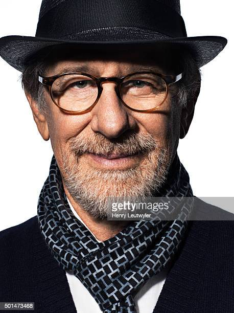 Director Steven Spielberg is photographed for Le Nouvel Observateur on October 26 in New York City