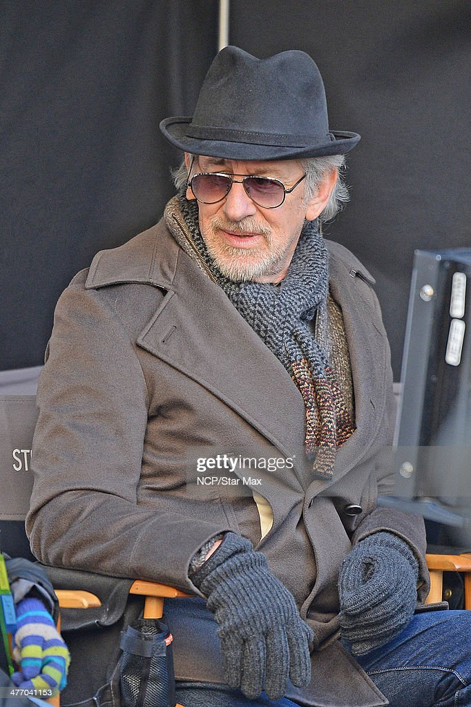 Director Steven Spielberg is seen on March 6, 2014 in New York City.