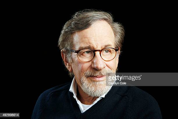 Director Steven Spielberg of 'Bridge of Spies' is photographed for Los Angeles Times on October 4 2015 in New York City PUBLISHED IMAGE CREDIT MUST...